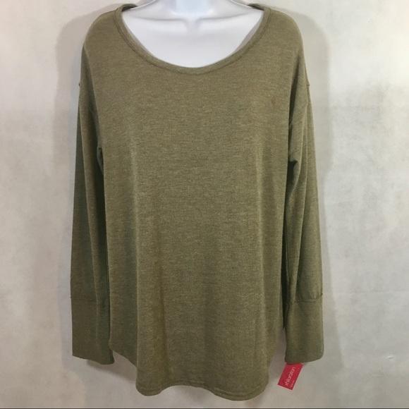 499ed29206b73 Xhilaration Intimates & Sleepwear | Sleepwear Pajama Top Long Sleeve ...